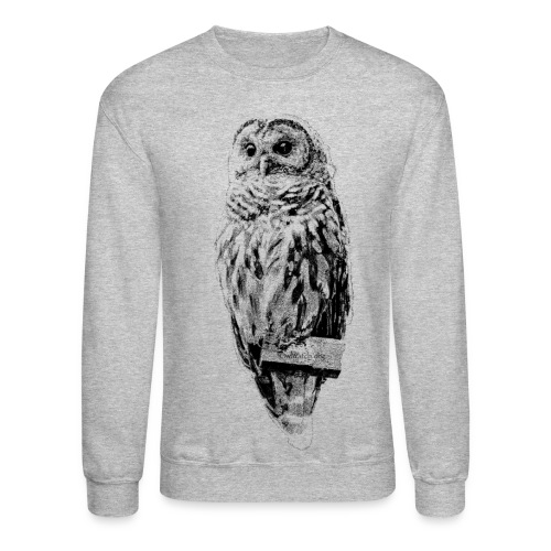 Mrs Barred Owl #4569 - Crewneck Sweatshirt