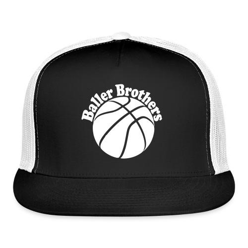 Baller Brothers basketball trucker cap2 - Trucker Cap