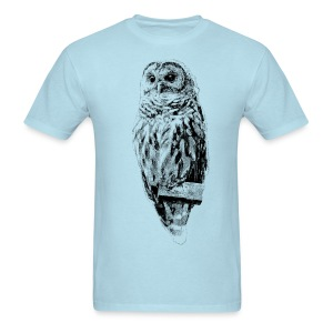 Mrs Barred Owl #4569 - Men's T-Shirt