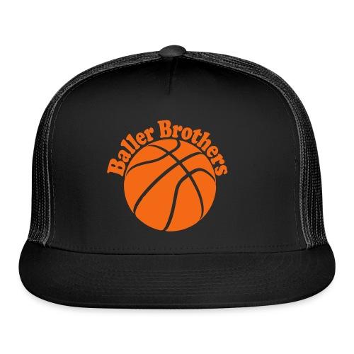 Baller Brothers basketball trucker cap 3 - Trucker Cap