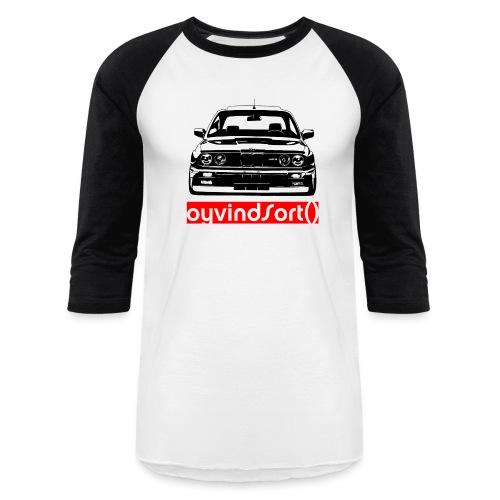 BMW E30 M3   Baseball T-Shirt - Baseball T-Shirt