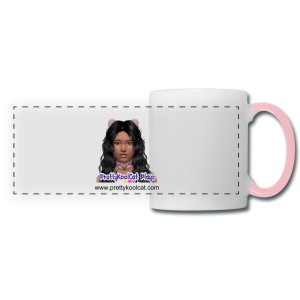 NEW! PrettyKoolCat Plays Anime - Panoramic Mug - Panoramic Mug