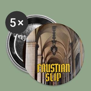 Faustian Slip - Corridor Button - Small Buttons