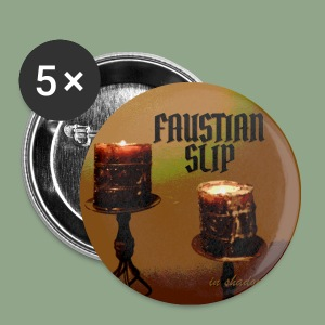 Faustian Slip - In Shadow Button - Small Buttons