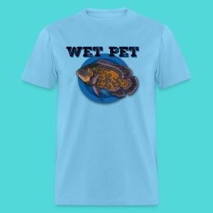 Men's Wet Pet Oscar Cichlid Tee - Men's T-Shirt