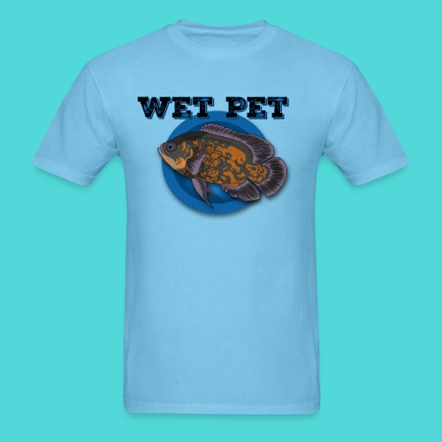 Men's Wet Pet Oscar Cichlid Tee - Men's T-Shirt