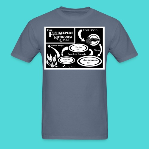Fishkeeper's Nitrogen Cycle Tee - Men's T-Shirt