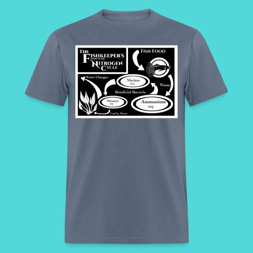 Fishkeeper's Nitrogen Cycle Tee - Men's T-Shirt