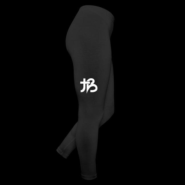 Bubble Leggings (Black w/ White Logo)