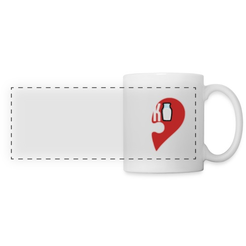 Coffee & Milk Coffee Cup (Milk) - Panoramic Mug