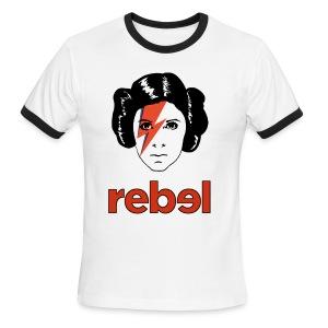 Rebel Princess  - Men's Ringer T-Shirt
