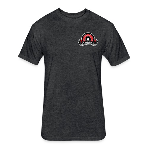 Armed S&C T-Shirt - Fitted Cotton/Poly T-Shirt by Next Level