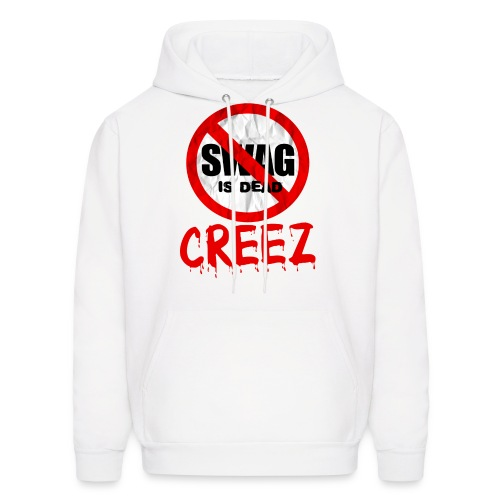 CREEZ SWAG IS DEAD MEN'S HOODIE - Men's Hoodie