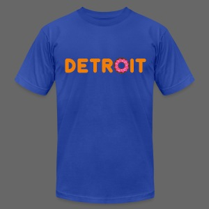 Detroit Donuts - Men's T-Shirt by American Apparel
