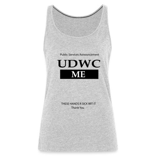 UDWC Public Service  - Women's Premium Tank Top
