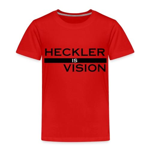 Heckler Vision Bar - Toddler Premium T-Shirt