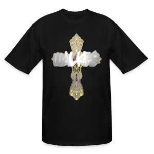 Blox3dnyc.com Qcross design. - Men's Tall T-Shirt