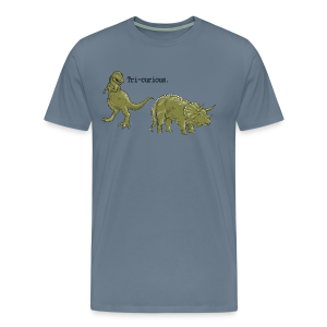 Tri-curious - Men's Premium T-Shirt