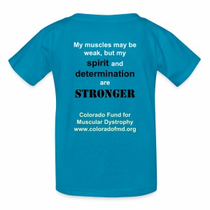Kid's My spirit and determination are stronger - Kids' T-Shirt