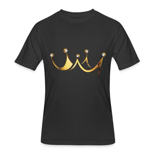CROWNED-MEN - Men's 50/50 T-Shirt