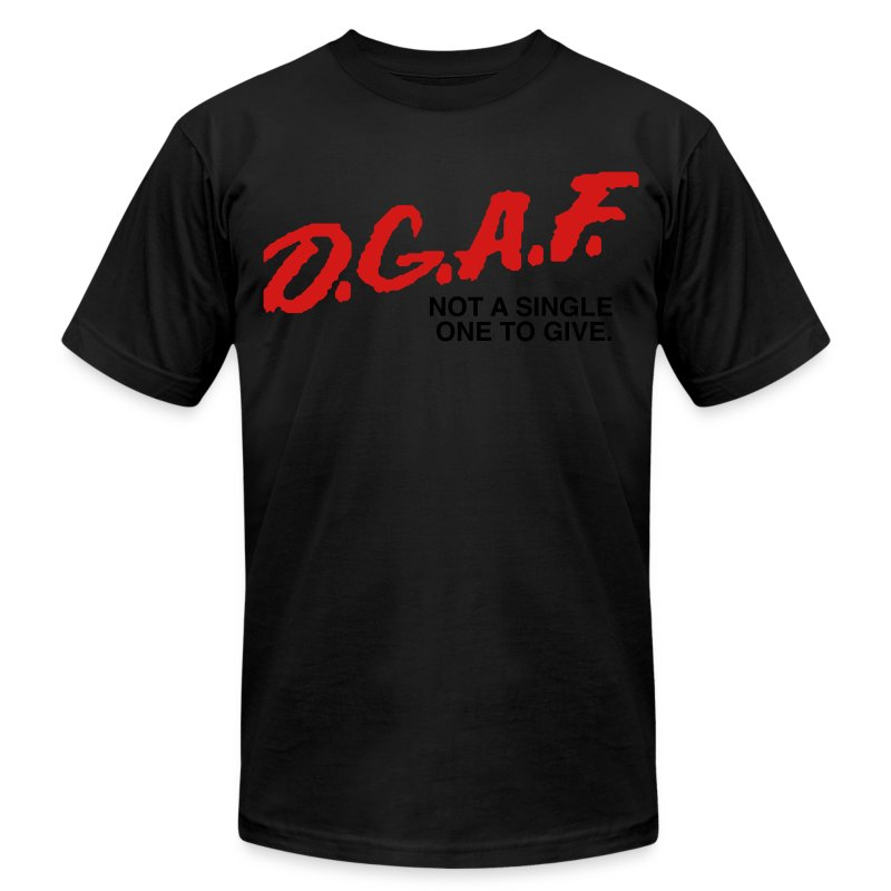 DGAF Men's Humor - Men's T-Shirt by American Apparel