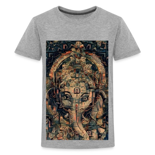 Salvia Ganesh Mens Tshirt - Kids' Premium T-Shirt