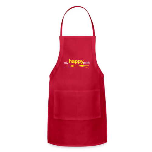 My Happy Path Apron - Adjustable Apron