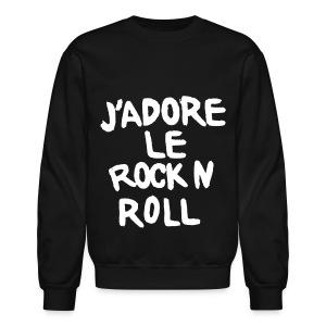 Jadore Le Rock n Roll - Crewneck Sweatshirt