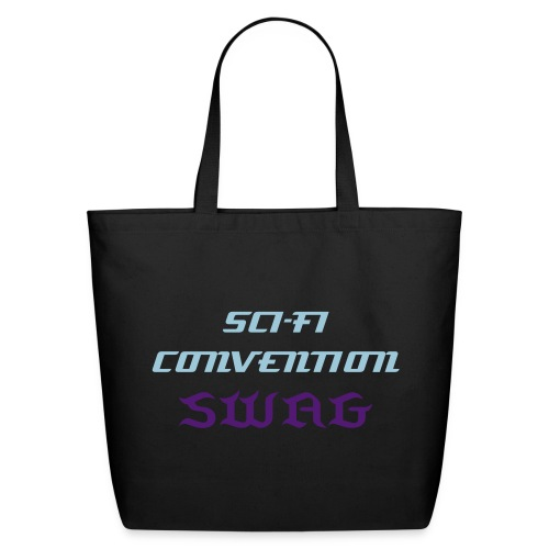 ConventionSWAG-scifiblue - Eco-Friendly Cotton Tote