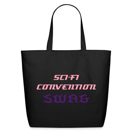 ConventionSWAG-scifipink - Eco-Friendly Cotton Tote