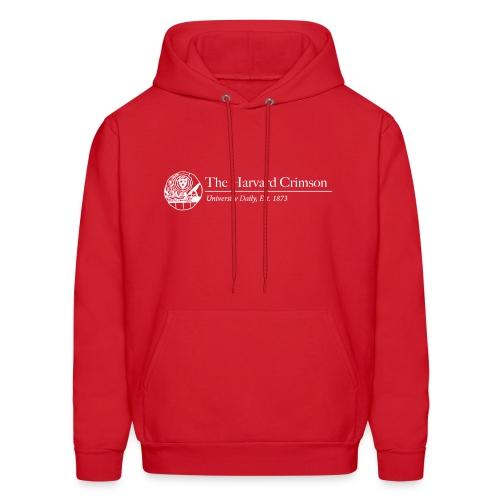 145 Men's Red Hooded Sweatshirt Design B - Men's Hoodie