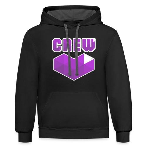 CrewLove Contrast Hoodie - Contrast Hoodie