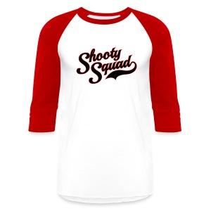 Shooty Squad Home - Baseball T-Shirt