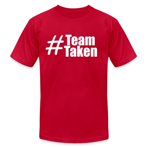 Team Taken Red| #TeamTaken - Men's Fine Jersey T-Shirt