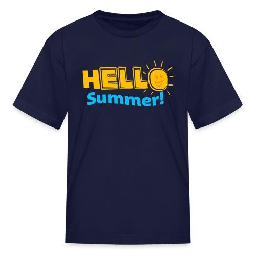 KIDS Hello Summer - Kids' T-Shirt