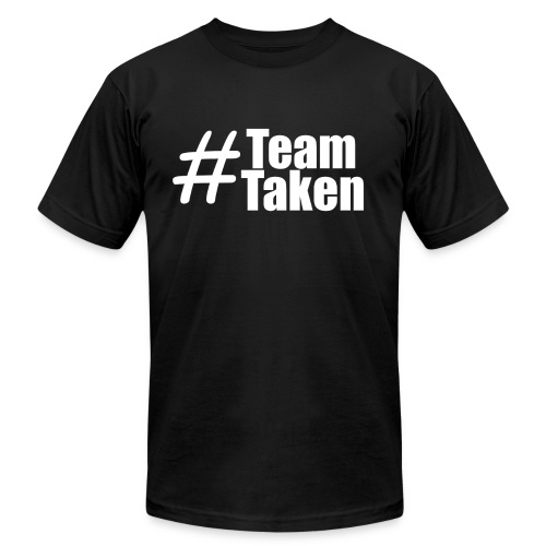 Team Taken Black | #TeamTaken - Men's Fine Jersey T-Shirt