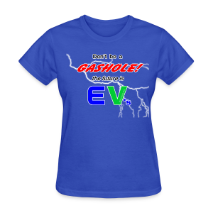 Women's Standard T- Gashole Front - Women's T-Shirt