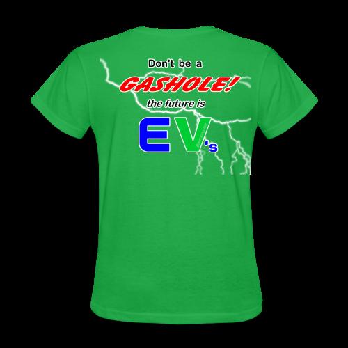 Women's Standard T- Gashole Back - Women's T-Shirt