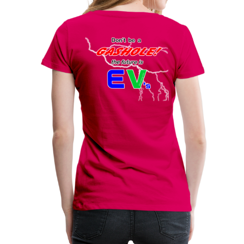 Women's Premium T- Gashole Back - Women's Premium T-Shirt