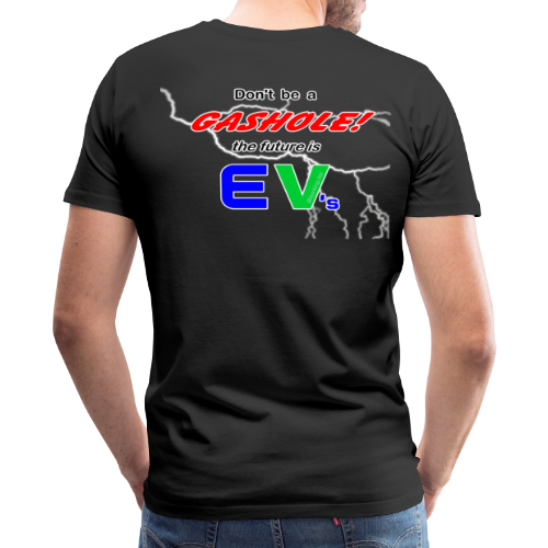 Men's Premium T- Gashole Back - Men's Premium T-Shirt