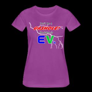 Women's Premium T- Gashole Front - Women's Premium T-Shirt