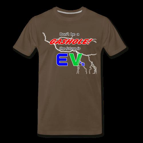 Men's Premium T- Gashole Front - Men's Premium T-Shirt