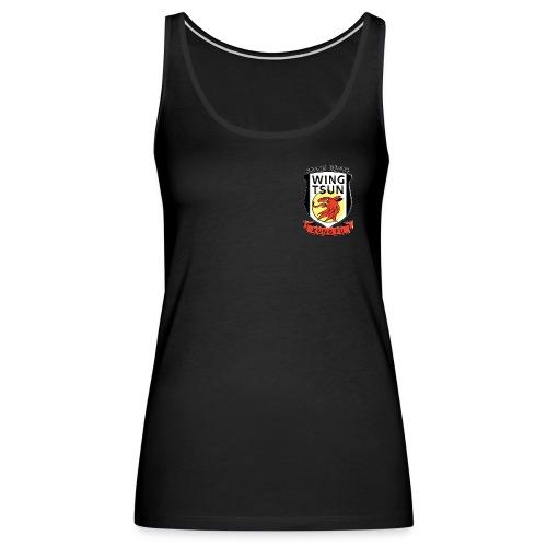 Wing Tsun Kung Fu instructor (Premium tank, women) - Women's Premium Tank Top