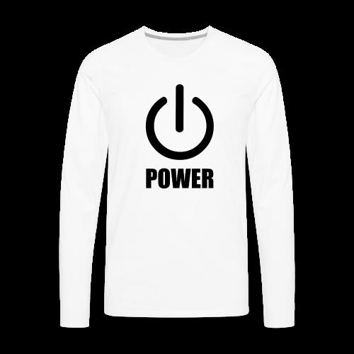 Men's Premium Long Sleeve T-Shirt - Men's Premium Long Sleeve T-Shirt