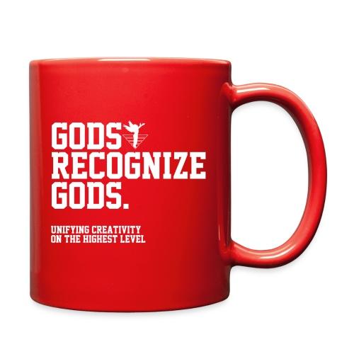 Gods Recognize Gods (WHITE) Cup - Full Color Mug