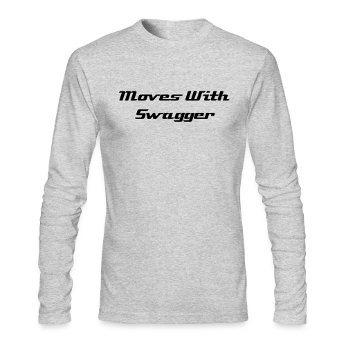 Moves with Swagger  - Men's Long Sleeve T-Shirt by Next Level