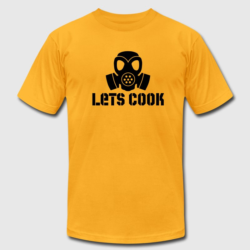 Lets Cook T-Shirts - Men's T-Shirt by American Apparel