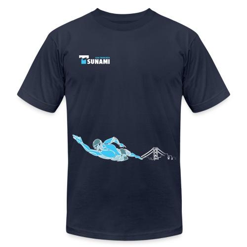 2017 Men's Swim Tee - Men's Fine Jersey T-Shirt