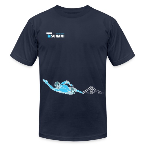 2017 Men's Swim Tee - Men's  Jersey T-Shirt