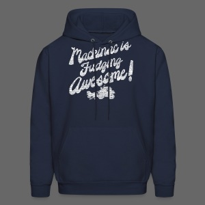Mackinac is Fudging Awesome - Men's Hoodie